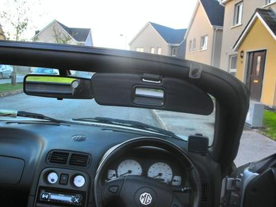 Mgf Amp Mg Tf Owners Forum Z3 Sun Visors